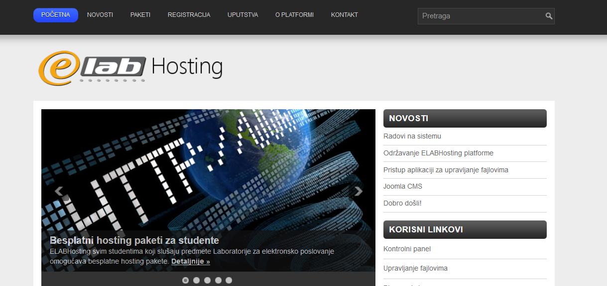 E-Lab Hosting