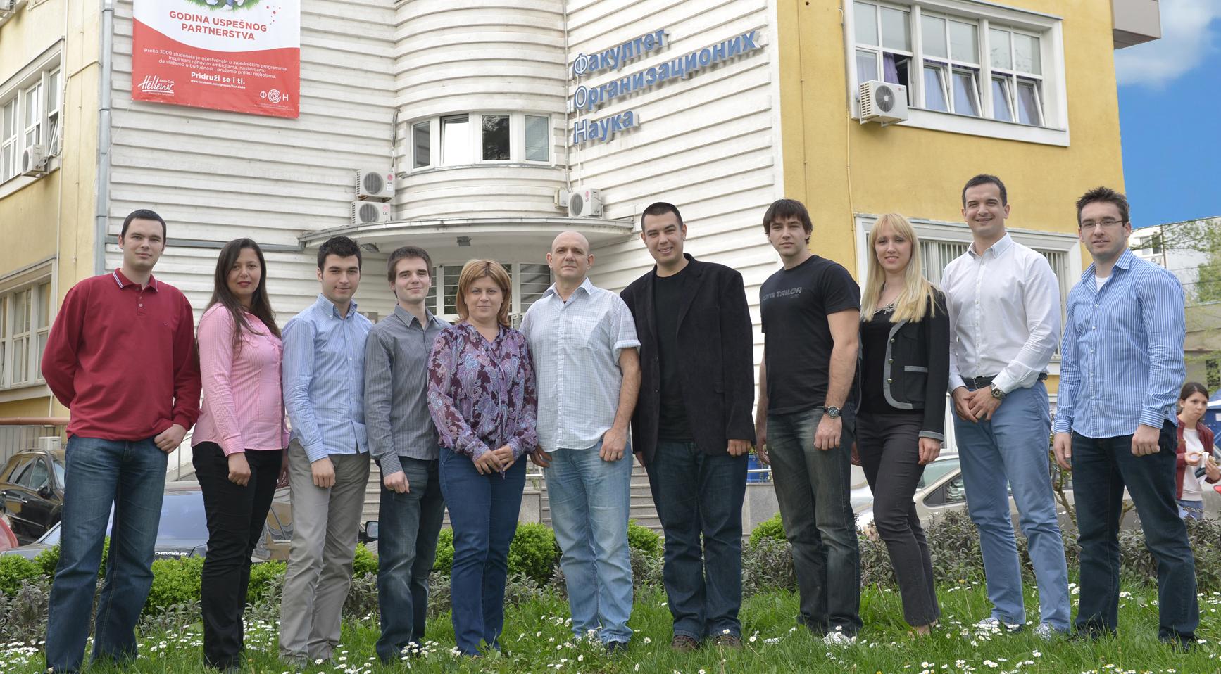 Department of e business - team